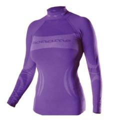 Женское термобелье рубашка Noname Skinlife (680078) фиолетовая