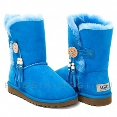 UGG Bailey Button Charms Blue
