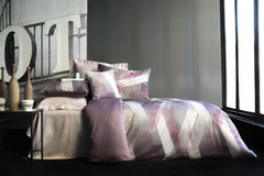 Постельное белье Issimo Home Helix purple евро