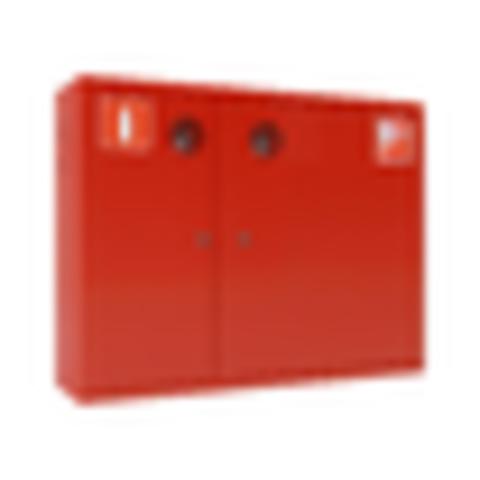 Шкаф пожарный красный ШПК-315 НЗК правый