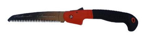 Ножовка складная 200мм с двухкомпонентной ручкой 010206