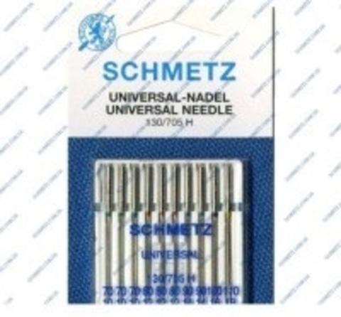 Игла Universal 130/705 H XOS №3-70, 3-80, 2-90, 1-100, 1-110 | Soliy.com.ua