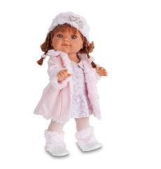 Munecas Antonio Juan Кукла Фермина, в розовом, 38 см (2249P)