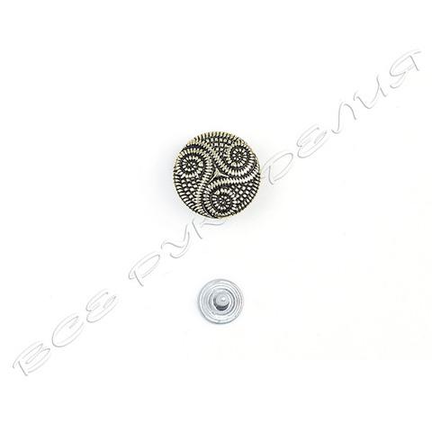 Кнопка «Завитки» (набор) 02-60-17026