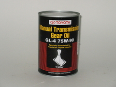 TOYOTA Manual Transmission Gear Oil 75w-90 1 литр