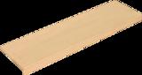 Ступень фронтальная Texture Peldano Lappato Creta 120x32 структурная