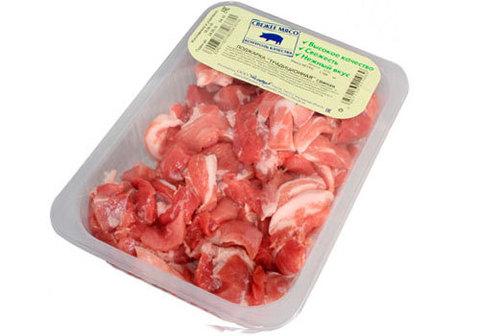 Поджарка свиная охлажденная~1кг