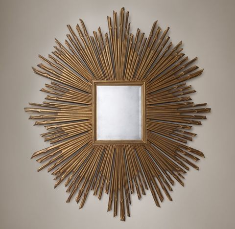 17th C. Sunburst Mirror