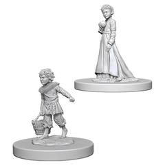 Pathfinder Deep Cuts Unpainted Miniatures - Children