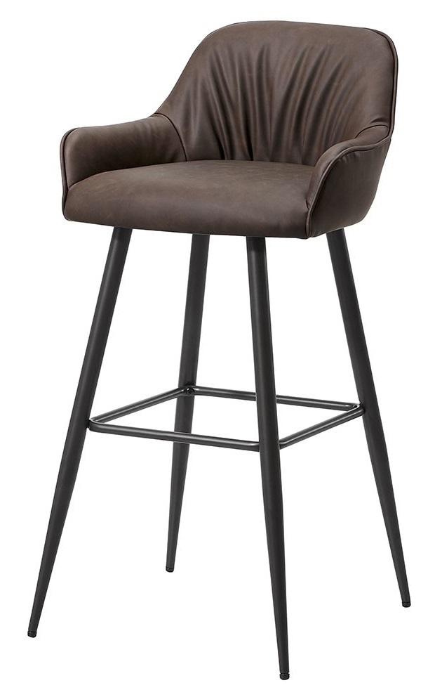 Барный стул 2-173 коричневый