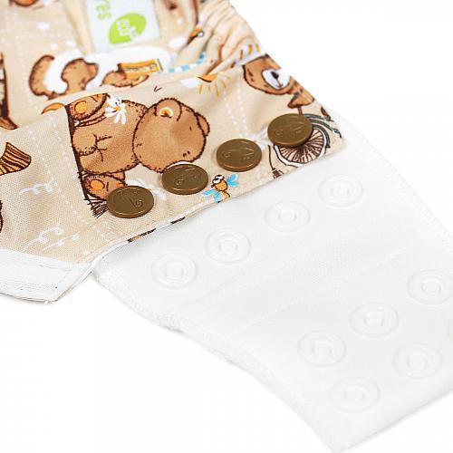 Трусики для приучения к горшку GlorYes! Медвежонок 10-20 кг + бамбуковый вкладыш