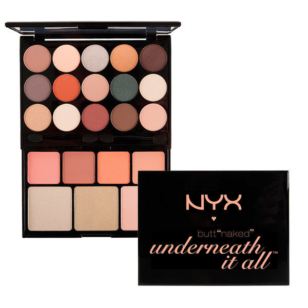NYX Набор для макияжа BUTT NAKED - UNDERNEATH IT ALL PALETTE