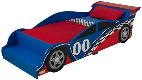 KidKraft Гоночная машина - детская кровать 76038_KE