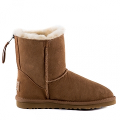 UGG Zip Mini Chestnut