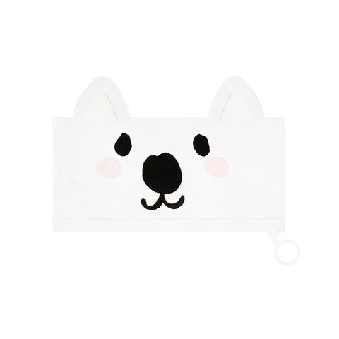 Пенал-косметичка Favorite Animal White