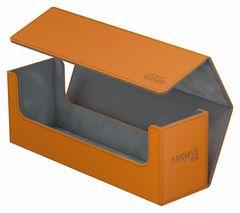 Ultimate Guard - Оранжевая кожаная коробочка для хранения 400+ карт