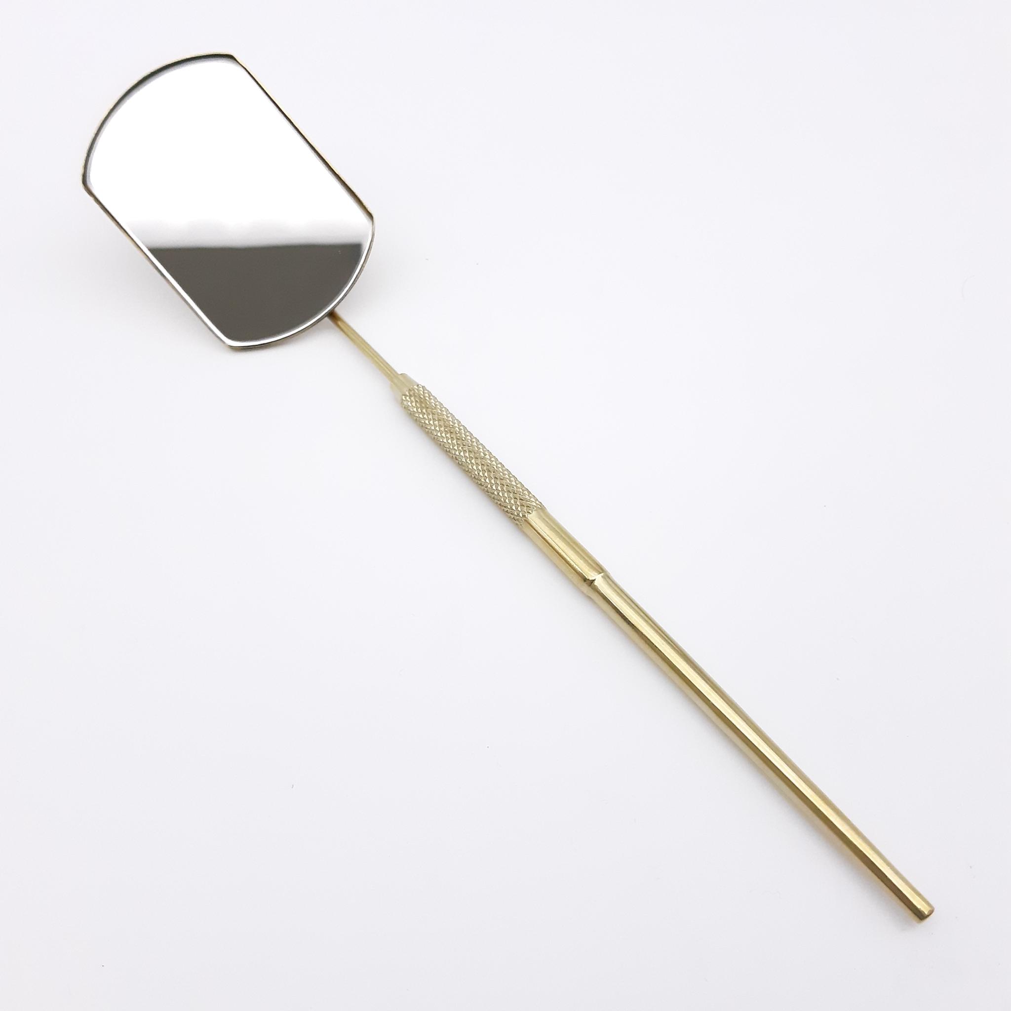 Зеркала для наращивания ресниц Зеркало для наращивания ресниц, титан/золото, MM-01TG MM-01TG.jpg