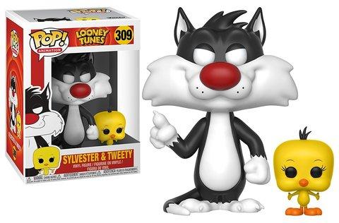 Фигурка Funko POP! Vinyl: Looney Tunes: Sylvester & Tweety  21975