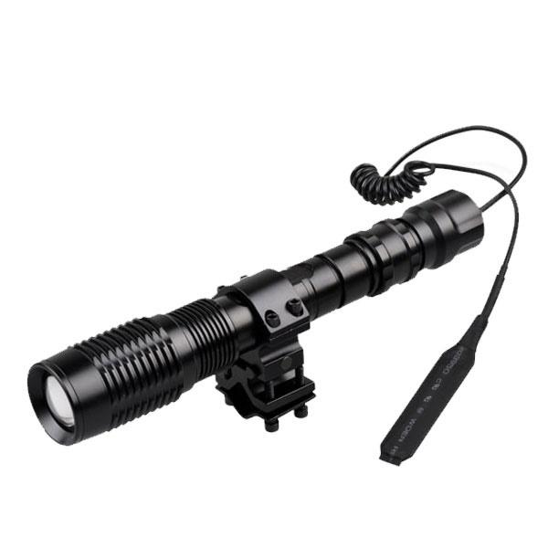 Фонарь подствольный для охоты McHunter Rifle Pro RW1000