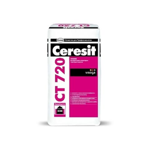 Ceresit CT 720 VISAGE/Церезит ЦТ 720 ВИЗАЖ декоративная штукатурка для создания фактуры дерева
