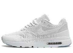 Кроссовки Мужские Nike Air Max 1 All White