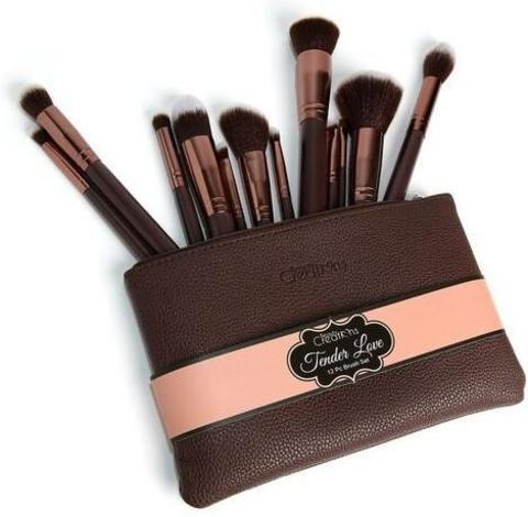 Набор кистей 12 шт Beauty Creations Tender Love Brush Set - 12 pc