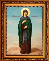 Фотиния (Светлана) Палестинская Святая преподобная. Икона на холсте.