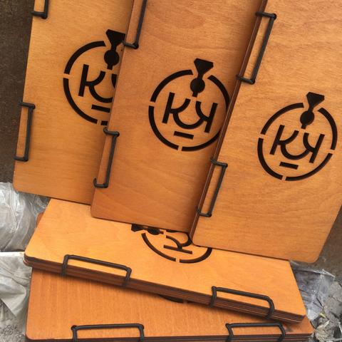 Чек-буки для кафе с логотипом