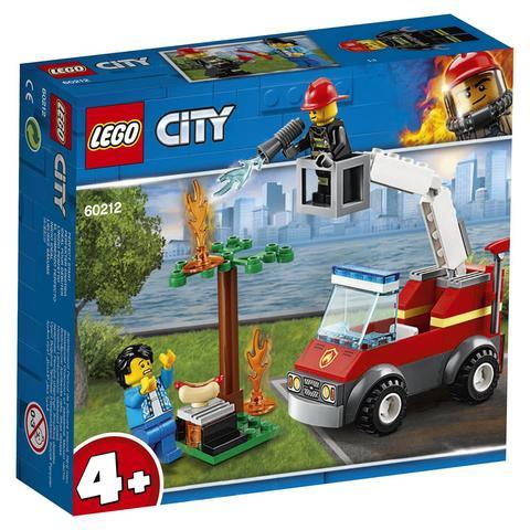 LEGO City: Пожар на пикнике 60212 — Barbecue Burn Out — Лего Сити Город