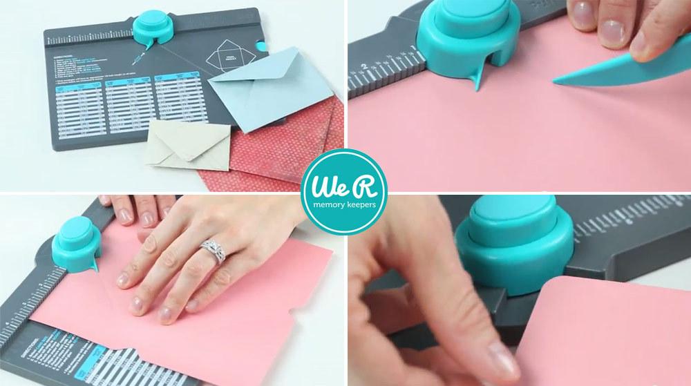 Доска для изготовления конвертов Envelope Punch Board