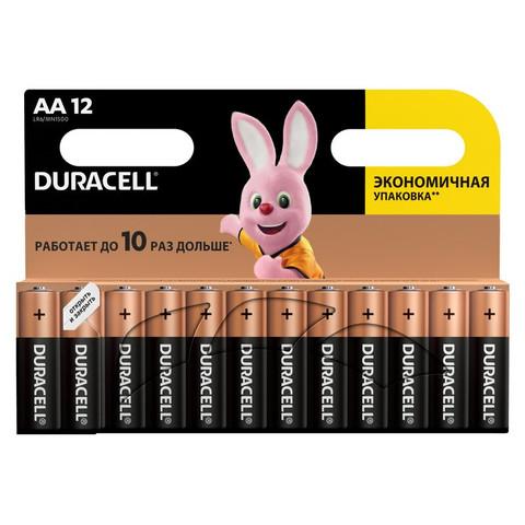 Батарейки DURACELL АА/LR6-12BL BASIC бл/12