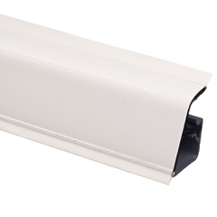 Плинтус Rehau 118 Белый, 4,2 м