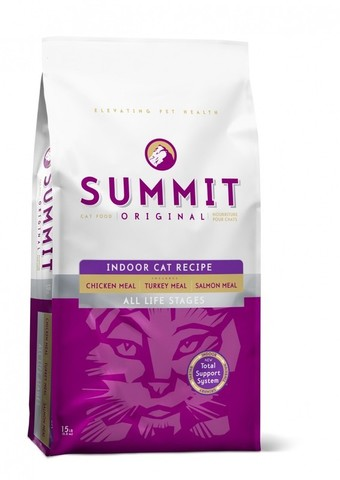 Сухой корм Summit Original 3 Meat, Indoor Cat Recipe CF