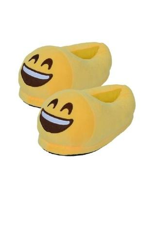 """Тапочки Emoji """"Радостный"""""""