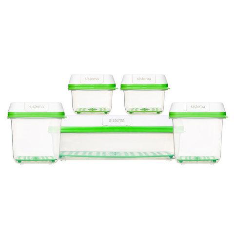 Набор контейнеров FreshWorks (5 шт)
