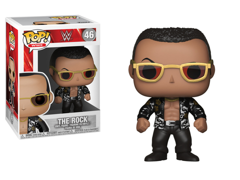 Фигурка Funko Pop! WWE Series: The Rock Old School 24824 (Chase)