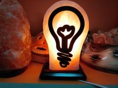 Солевая лампа Лампочка 2-3кг