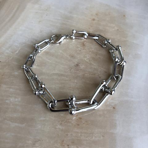 Браслет Эйстри, серебряный цвет