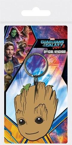 Брелок силиконовый Guardians of the Galaxy Голова Грута
