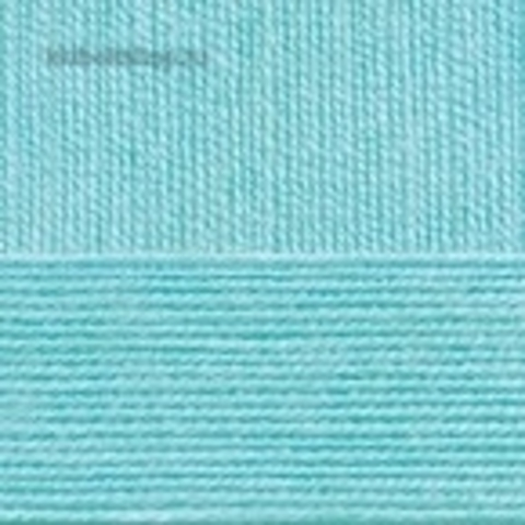 Бисерная 222 Голубая бирюза - пряжа Пехорка в интернет-магазине
