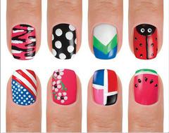 Набор для дизайна ногтей Hot Designs - 12 цветов