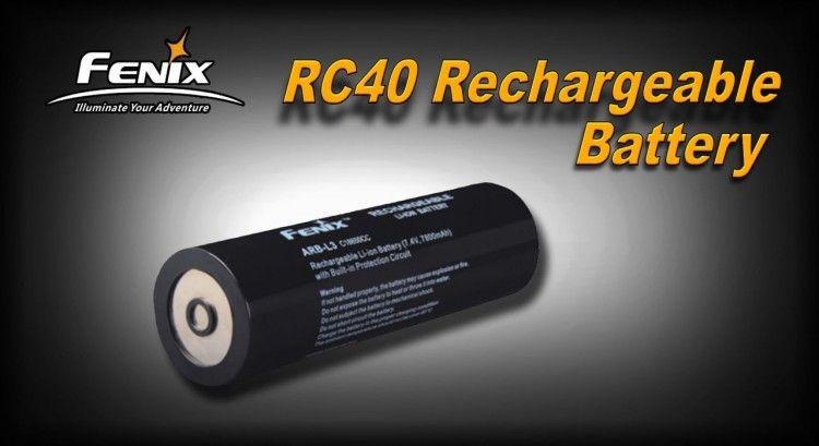 Аккумулятор Fenix 7800 mAh для Fenix RC40 купить