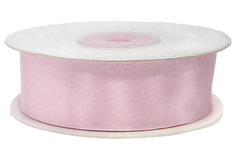 Лента атласная Нежно-розовый, 25 мм*22,85 м