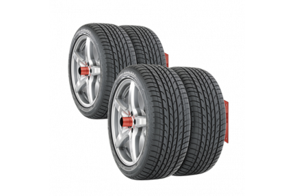 Настенные кронштейны для колес (2 шт.)
