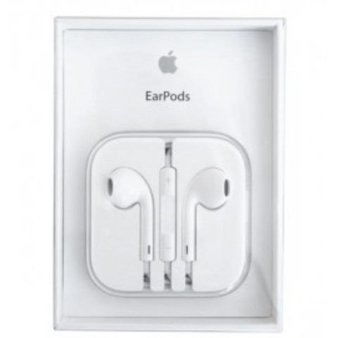 Наушники Apple Earpods BOX (под оригинал) white