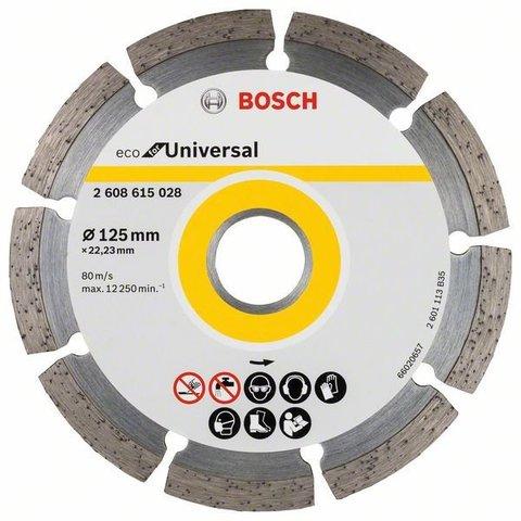 Алмазный отрезной круг ECO for Universal 125 мм