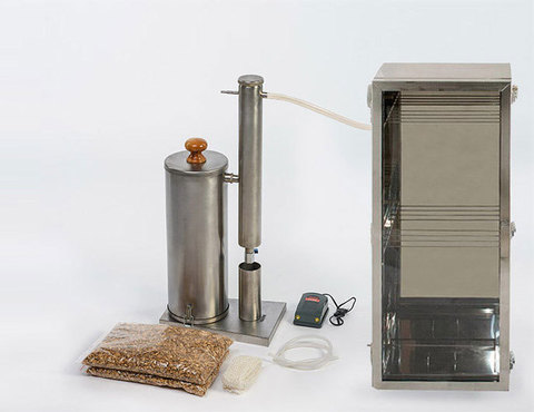 Дымогенератор + шкаф Hanhi