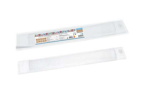Светодиодный светильник LED ДПО 3017 16Вт 1450лм 6500К Компакт с датчиком Народный