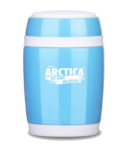 Термос-бочонок «Арктика», голубой 480 мл