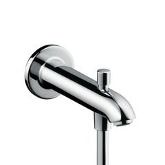 Излив для ванны настенный с переключателем Hansgrohe 13424000 фото
